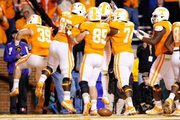 Power Ranking the Tennessee Volunteers 2013 Schedule from Easiest to Toughest