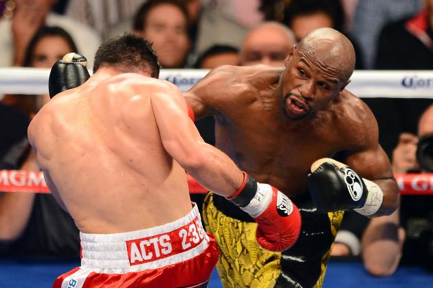 How Does Floyd Mayweather Stack Up Against the All-Time Great Welterweights?