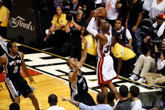 Greatest Game 7 Moments in Heat and Spurs History