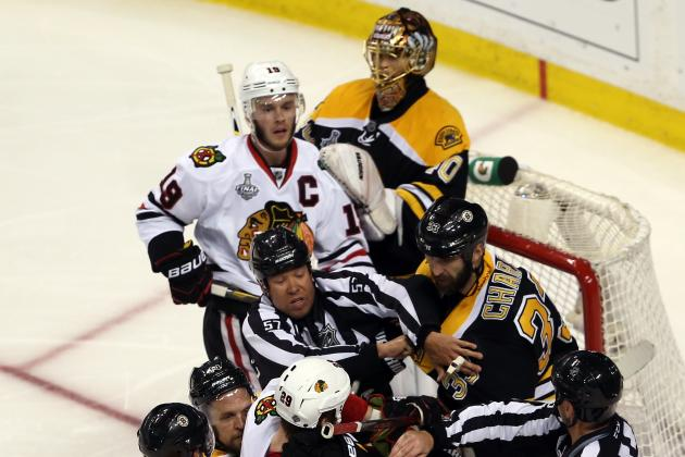 NHL Bruins vs. Blackhawks: 3-Year Projection for the 2013 Stanley Cup Finalists