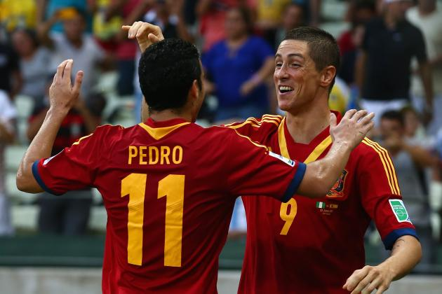 Confederations Cup: Rating Spain's Players in Their 3-0 Victory over Nigeria