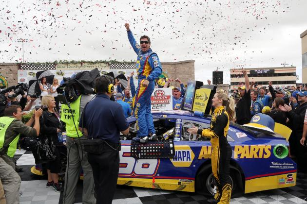 Winners and Losers from NASCAR Sprint Cup Series at Sonoma