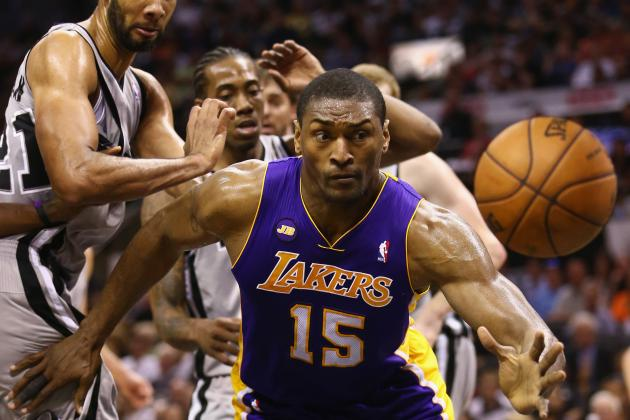 Pros and Cons of Metta World Peace Opting out of LA Lakers Contract