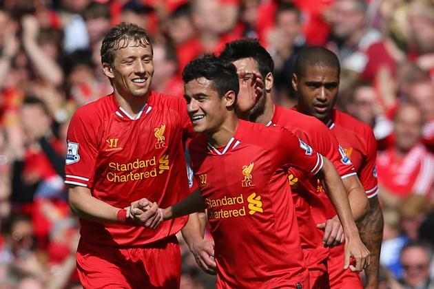 Liverpool 2013-14 EPL Fixtures: Ranking the Reds' 10 Toughest Matches
