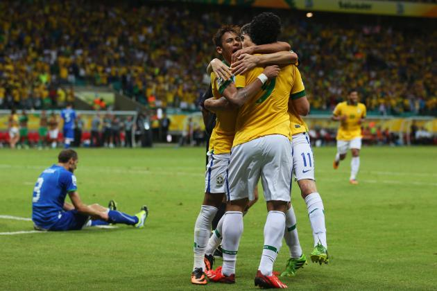 Brazil vs. Uruguay: Key Battles to Watch in Confederations Cup Semifinal