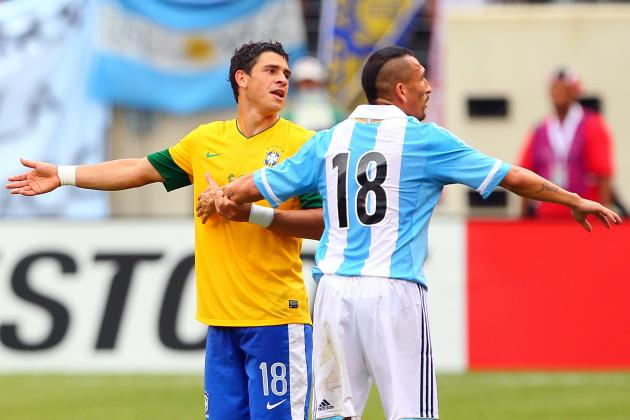 Power Ranking the South American Nations on Current World Cup Form