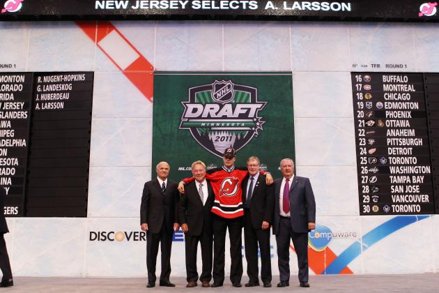 2013 NHL Draft: Re-Grading New Jersey Devils' Last 5 First-Round Draft Picks