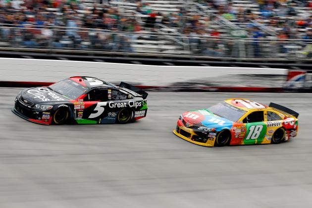 Power Ranking the 15 Best Paint Schemes from the 2013 Sprint Cup Season