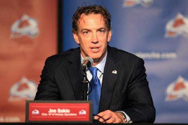 What to Believe from Joe Sakic on Avalanche's Plans for No. 1 Pick in NHL Draft