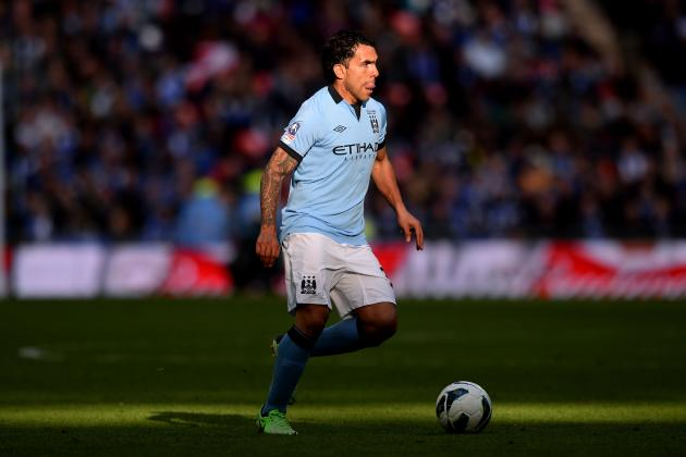 5 Candidates to Replace Carlos Tevez at Manchester City