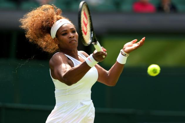 Who Can Challenge Serena Williams at Wimbledon After Sharapova, Azarenka Exits?