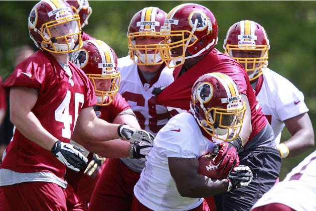 Rookie, Undrafted Free Agent Watch for Redskins Training Camp