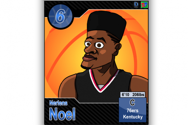 The 2013 NBA Draft Class as Cartoons