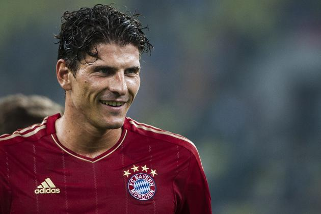 Most Likely Summer Transfer Destinations for Bayern Munich's Mario Gomez