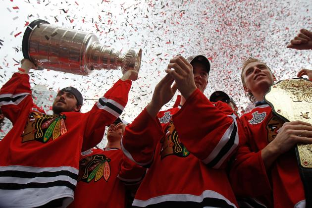 Chicago Blackhawks Parade 2013: Best Images from the Stanley Cup Celebration