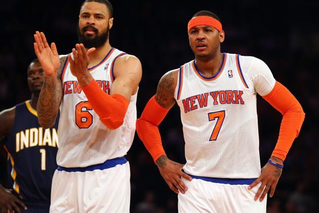 Initial 2013 New York Knicks Post-NBA Draft Depth Chart Projections