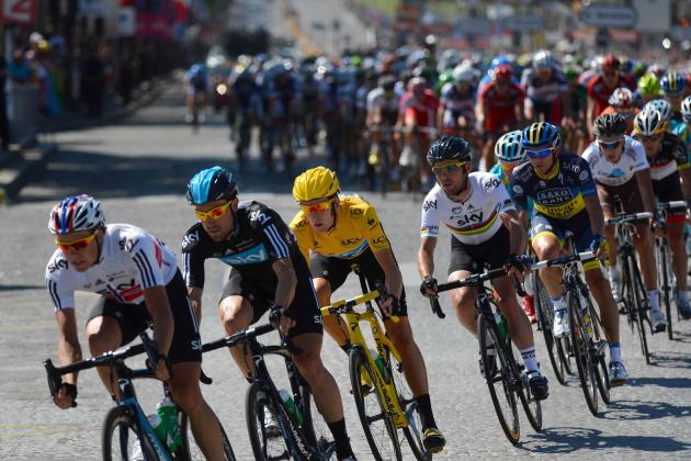 Tour de France 2013 Standings: Updated Results, Leaders, Times and More