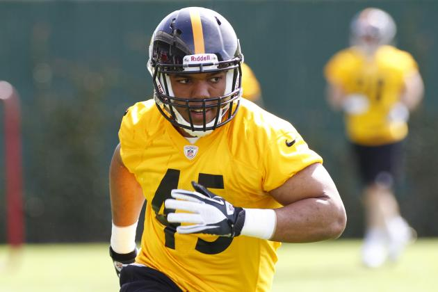 8 Players Who Might Find Themselves on Pittsburgh Steelers 2013 Practice Squad