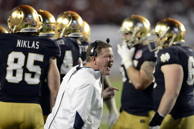Notre Dame Football: Power Ranking the Head Coaches on the Irish's 2013 Schedule