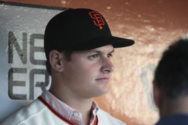 San Francisco Giants: Stock Up, Stock Down for Top 10 Prospects for Week 13