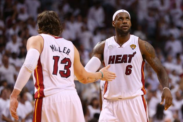 Initial 2013 Miami Heat Post-NBA Draft Depth Chart Projections