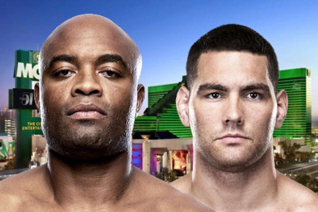 Fun Facts and Stats for UFC 162: Anderson Silva vs. Chris Weidman Fight Card