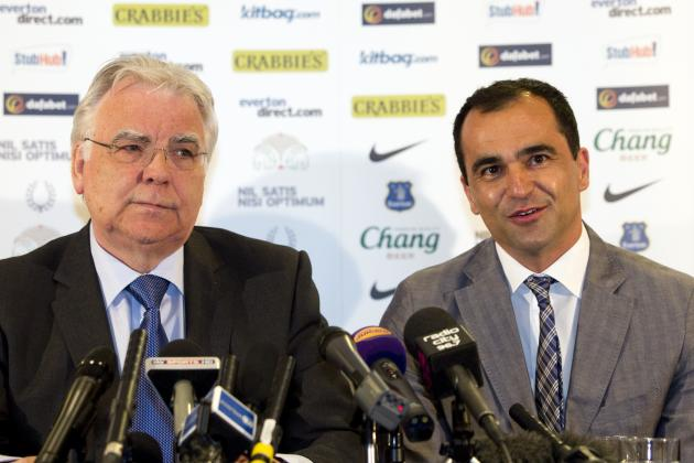 Everton: Issues Roberto Martinez Must Deal with in First Week