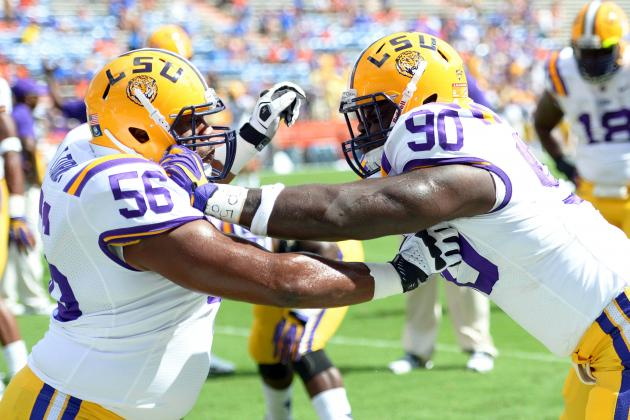 LSU Football: Power Ranking the Strongest Positional Units for 2013