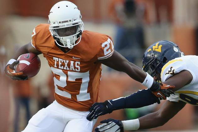 Texas Football: 5 Players Who Need More Touches in 2013