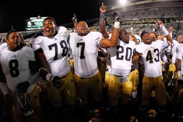 Notre Dame Football: Power Ranking the Strongest Positional Units for 2013