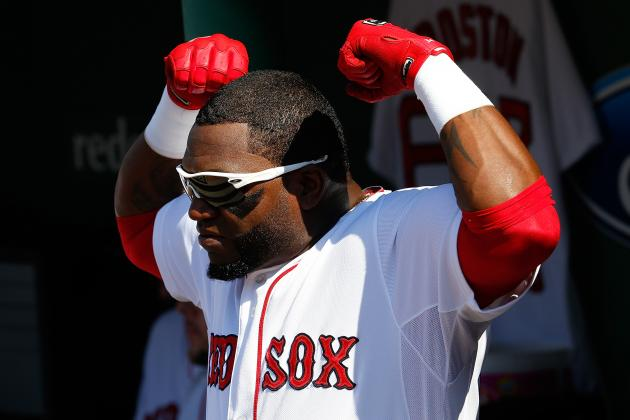 Handing out First-Half Awards to Boston Red Sox Players