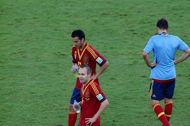 2013 Confederations Cup Final: Spain Loss Signals a Long Road Ahead