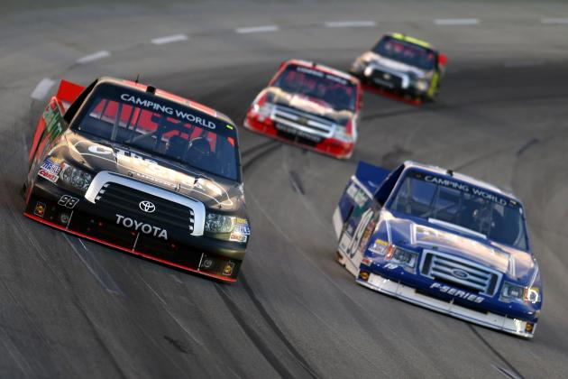 Ranking the 10 Most Exciting Talents in the NASCAR Camping World Truck Series