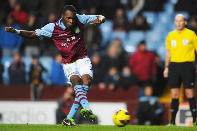 Predicting Aston Villa's Starting XI for the 2013-14 EPL Season