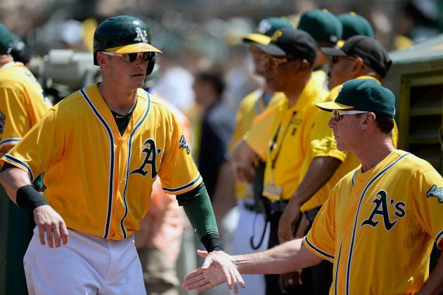 Handing Out First-Half Awards to Oakland A's