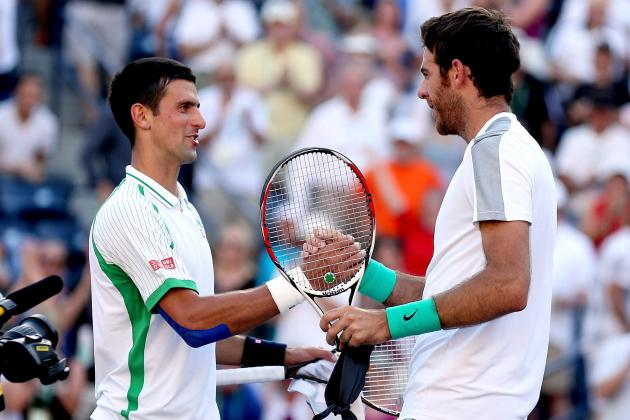 Wimbledon 2013 Men's Semifinal: Djokovic vs. Del Potro Preview and Prediction