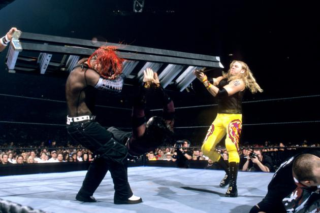 WWE Money in the Bank: Ranking WWE's 10 Greatest Ladder Matches