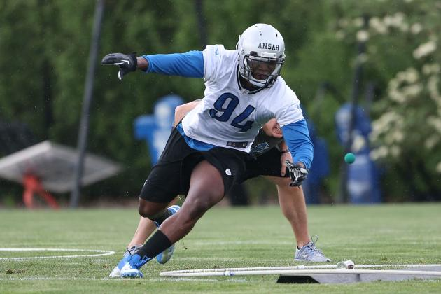 Rookie, Undrafted Free Agent Watch for Detroit Lions Training Camp