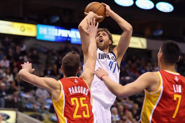 Ranking Dirk Nowitzki's 5 Most Dangerous Offensive Moves