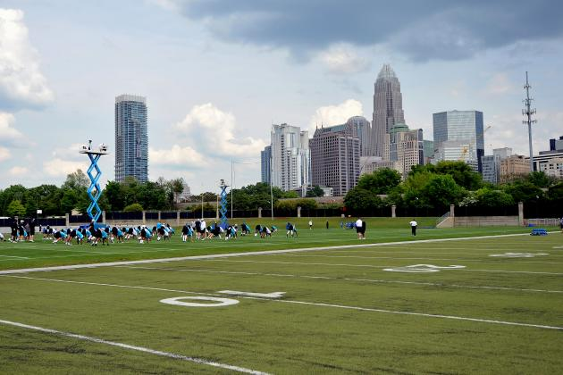 Full Training Camp Roster Breakdown for the Carolina Panthers