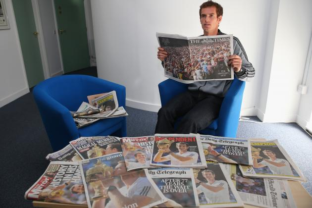 Front Pages Around the World Celebrate Andy Murray's Wimbledon Championship