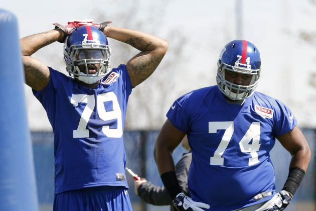 Rookie, Undrafted Free Agent Watch for New York Giants' Training Camp