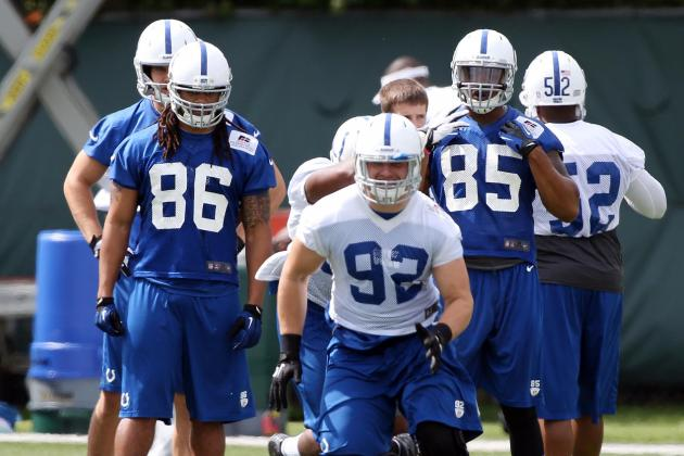 Rookie, Undrafted Free Agent Watch for Indianapolis Colts' Training Camp