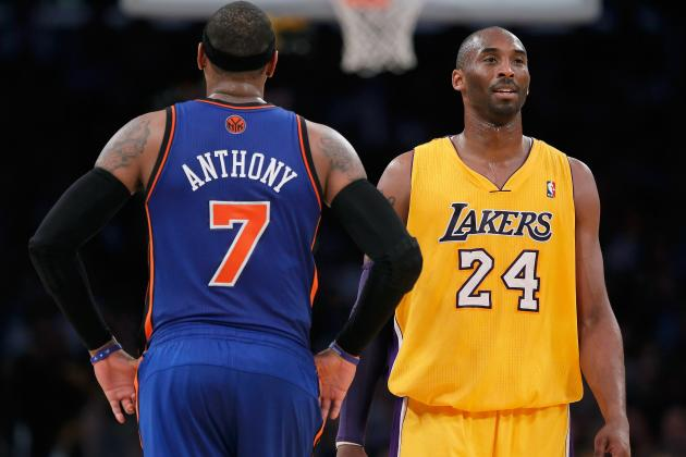 NBA Free Agency: 7 Reasons Carmelo Anthony Will Sign with L.A. Lakers in 2014