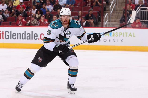 Early Line Projections for 2013-14 San Jose Sharks