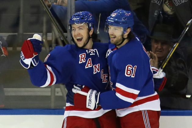 Early Projection for New York Rangers' 2013-14 Depth Chart