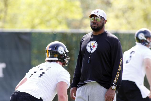 Projected Pittsburgh Steelers' Final 53-Man Roster, Training Camp Edition