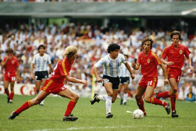 World Cup Greats: Recalling Diego Maradona's Argentina in 1986