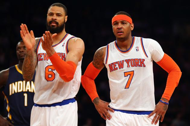 Early Predictions for NY Knicks' Starting 5 Next Season