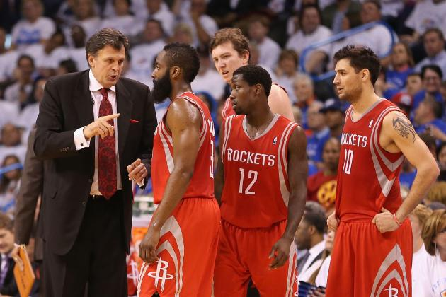 Early Predictions for Houston Rockets' Starting 5 Next Season